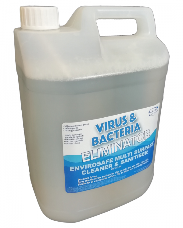 Hi-tec virus and bacteria eliminator 5 litre